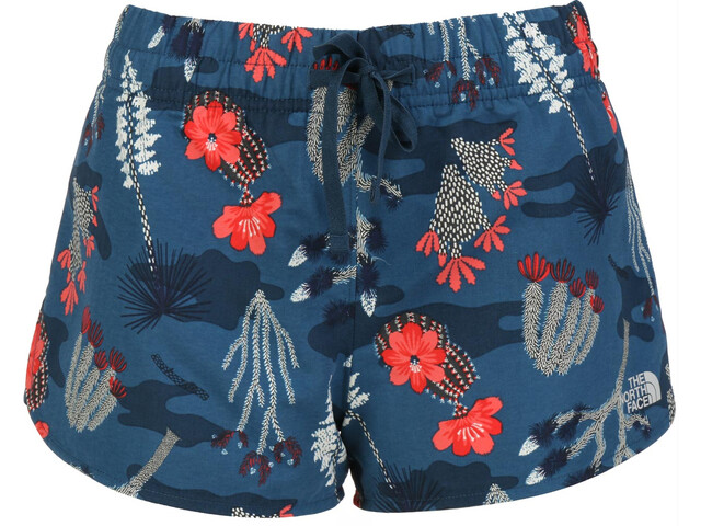The North Face Class V Mini Short Femme, blue wing teal joshua tree print